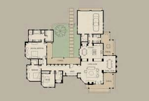 shaped house floor plans with courtyard and home also ranch
