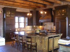 mediterranean kitchen cabinets rustic and mediterranean