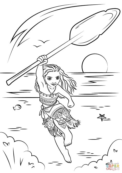 printable coloring pages moana moana coloring page free printable coloring pages