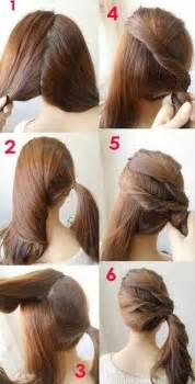 Easy Hairstyles Tutorials Cool And Easy Hairstyles Pretty Designs