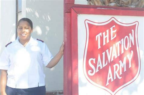 Salvation Army Food Giveaway - families affected by the drought are the aim of a food giveaway by the salvation army