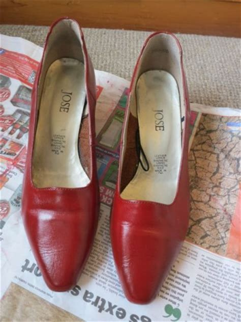 tutorial how to dye leather shoes handbags the