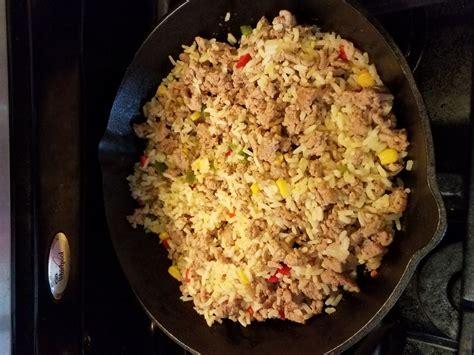 ground turkey and rice recipes easy ground rice recipes sparkrecipes