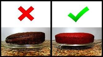 flacher kuchen how to bake even flat cake layers
