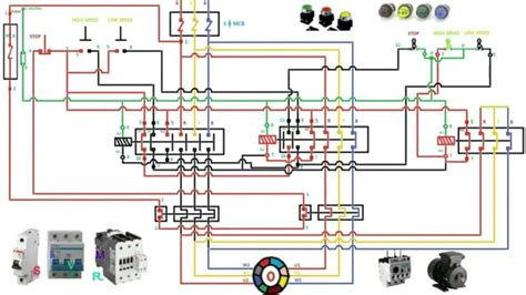 two speed motor wiring diagram 3 phase fitfathers me