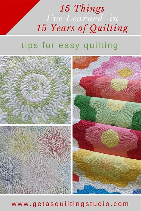 quilting tips i ve learned in 15 years of quilting