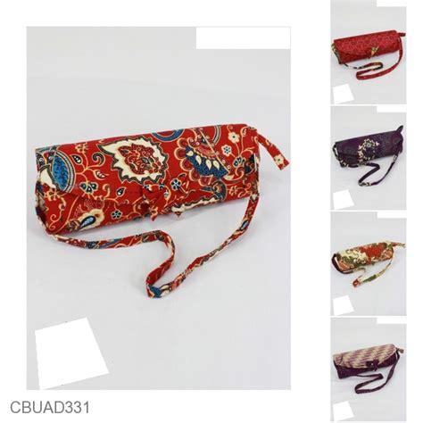 Dompet Wanita Bantal Pita Flip Murah dompet pesta pita tali motif batik kotemporer indonesia
