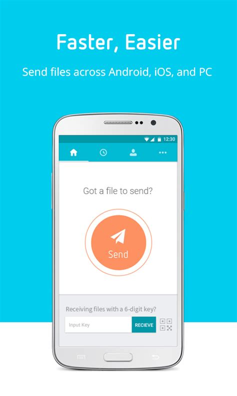 send anywhere file transfer android apps on play