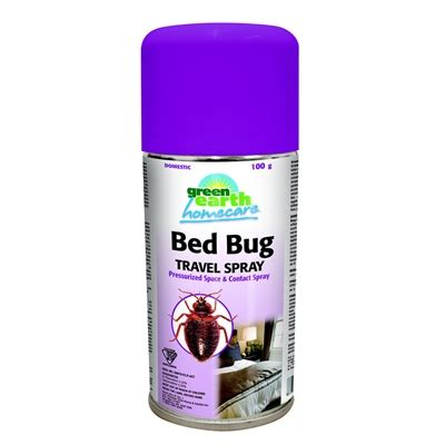 bed bug spray green earth homecare 100g bed bug travel spray lowe s