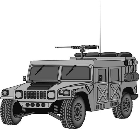 military hummer drawing hummer clip art at clker com vector clip art online