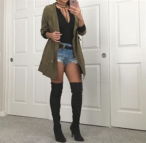 best 25 thigh high boots outfit ideas on pinterest thigh