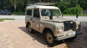land rover santana 88 land rover defender series iii santana 88 for sale photos