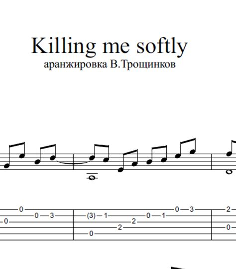 guitar tutorial killing me softly buy quot killing me softly quot notes and tabs for guitar and