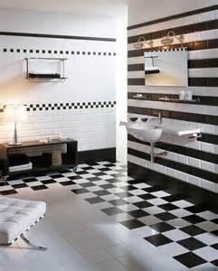 badezimmer schwarz weiß metro fliesen urbaner chic f 252 r bad und k 252 che roomido