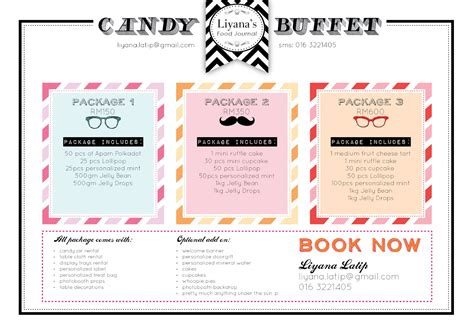 liyana s food journal candy buffet available with lfj now