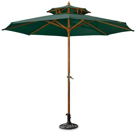 Decorative Iron Umbrella Base, Black   155726, Patio