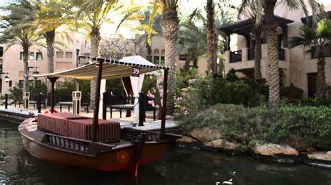 madinat jumeirah boat ride souk madinat abra tour in dubai youtube