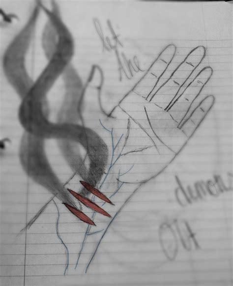 Self Harm Drawings