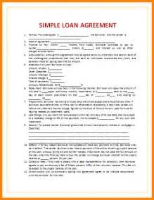 blank loan agreement template 5 blank loan agreement template cashier resumes