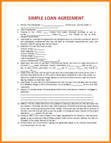 5  blank loan agreement template   cashier resumes