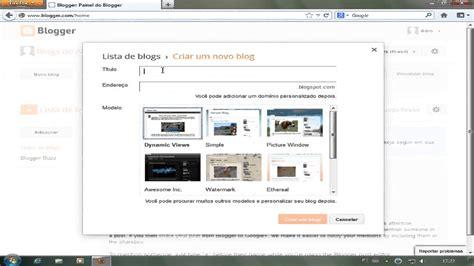 como colocar template no blogger youtube como colocar um template no blogger 2013 youtube