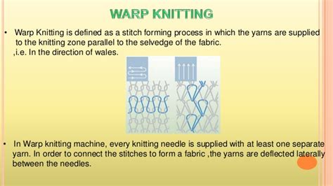 warp knitting definition warp knitting machine