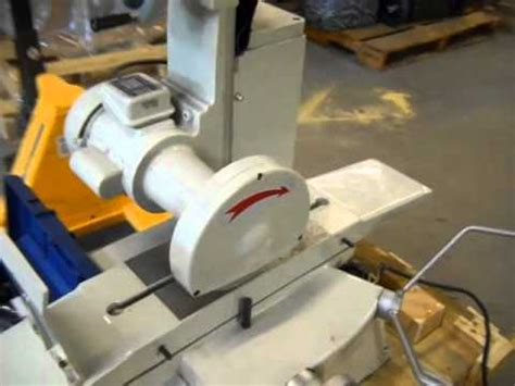 bench surface grinder 6 quot x 12 quot bench surface grinder 43047 youtube
