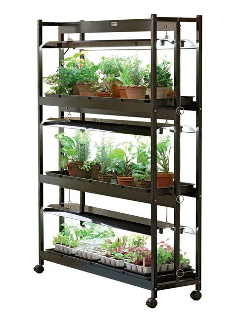 tier sunlite garden shelves fluorescent   bulbs