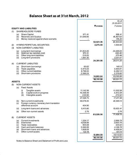 Balance Sheet Template Uk by Uk Balance Sheet Template Madrat Co