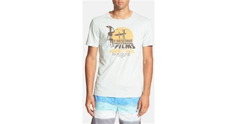 Tshirt Kaos Endless Summer lyst lucky brand endless summer graphic t shirt in blue for