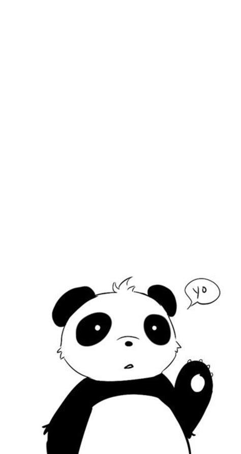 wallpaper black and white panda pinterest the world s catalog of ideas