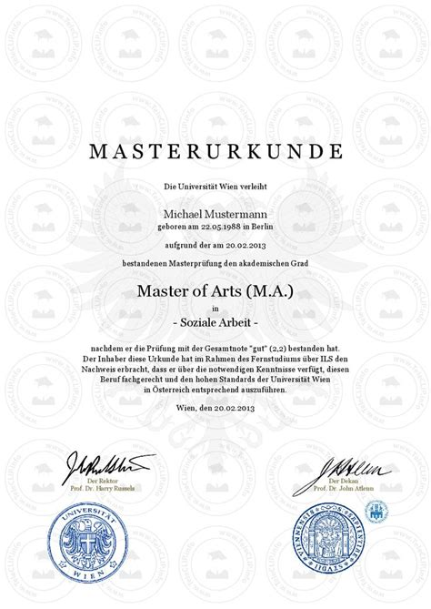 Is Mba Master Of Arts Or Science by 13 Best Master Urkunde Kaufen Master In Business
