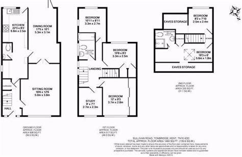 uk floor plans 26 3 bedroom semi detached house plans bedroom semi