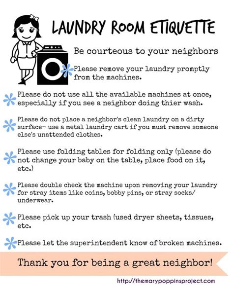 Laundry Room Etiquette Signs 28 laundry room etiquette signs 10 ways to be a