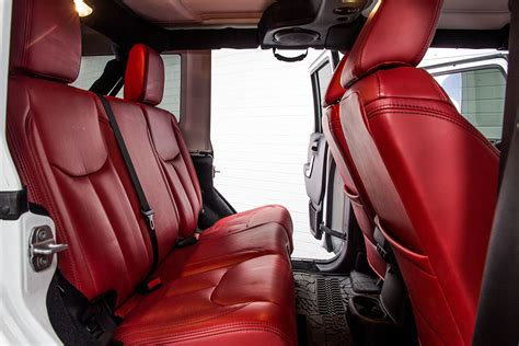 jeep wrangler leather seats pre owned 2014 jeep wrangler unlimited white