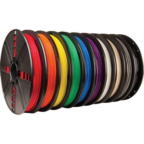 Filament 3d Printer makerbot 1 75mm pla filament large spool 10 pack mp06572 b h
