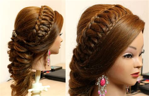 Wedding Hairstyles How To by Wedding Prom Hairstyle For Hair Makeup