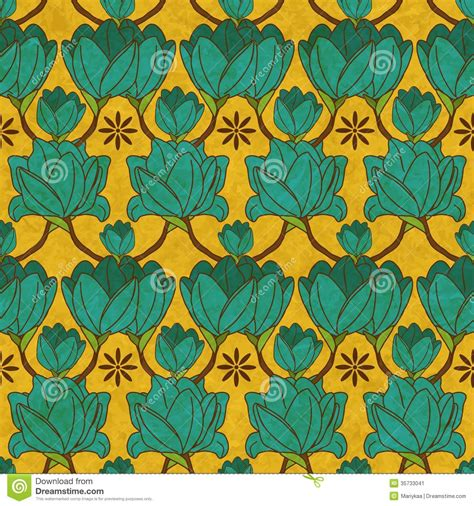 seamless pattern indian vector indian floral seamless pattern stock image image