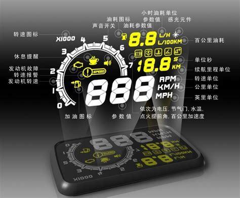 Car Led Hud Up Display Obd2 Interface 5 5 Inch Led Car Hud Up Display Obd2 Interface 5 5 Inch Lazada Indonesia