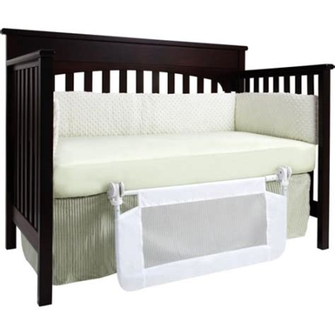 Bed Rails For Convertible Cribs Dex Baby Safe Sleeper Convertible Crib Bed Rail Walmart