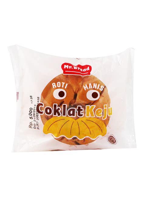 Mr Bread Roti Manis Kasur Coklat mr bread roti manis isi coklat keju pck klikindomaret