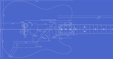 routing guide template printable templates for the telecaster custom deluxe