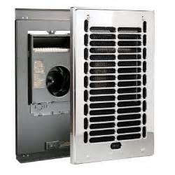 bath heater bathroom electric fan  electric fan forced in wall bath heater chrome rbf the home depot