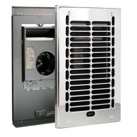 bathroom heater home depot cadet rbf series 1000 watt 120 volt electric fan forced in wall bath heater chrome