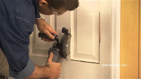 How To Install A Cat Door by Dualsaw Installing A Pet Door