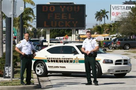 Broward Sheriffs Office by Broward County Sheriff S Office Conducting Dui Checkpoints