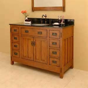 Craftsman Bathroom Vanity Craftsman Style Bathroom Vanity Craftsman Style Bathroom Cabinets Craftsman Bath Mission