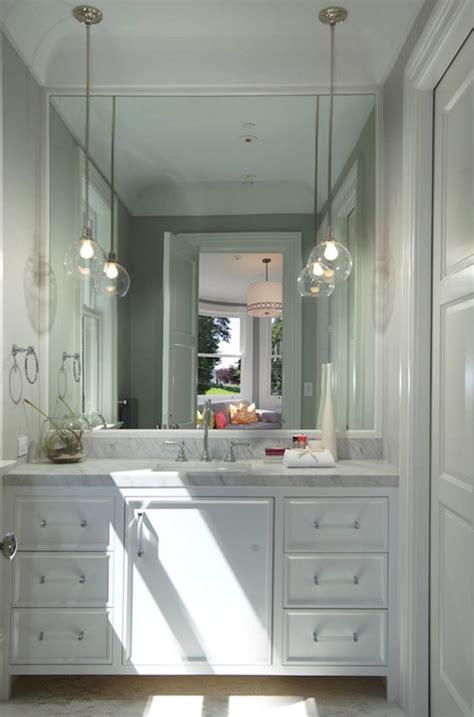 lucite pulls contemporary bathroom artistic designs