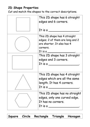 2d and 3d shapes ks2 worksheets 2d and 3d shape worksheets by ehazelden teaching
