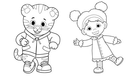 coloring page daniel tiger the daniel tiger coloring pages gianfreda net